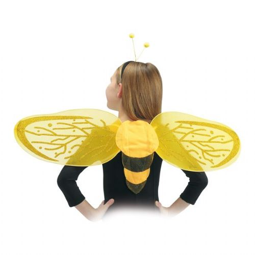 Wings Butterfly Bee with Head Band 25x80 Tink Pan fairytale Whisp Fancy Dress